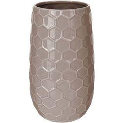 Ceramiczny wazon na kwiaty, dekoracje - wysoki, 21 x Ø 12 cm