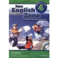 New English Zone 4 Podręcznik z płytą CD (opr. miękka)