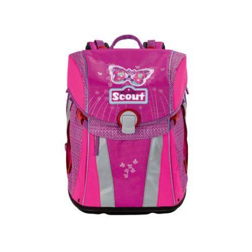 Tornistry i plecaki szkolne, SCOUT Plecak Basic Sunny - Purple Butterfly