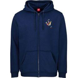 bluza SANTA CRUZ - Primary Hand Zip Hood Dark Navy (DARK NAVY) rozmiar: XL
