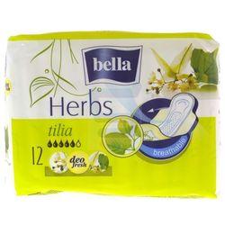 Podpaski higieniczne Bella Herbs wzbogacone kwiatem lipy 12 szt.