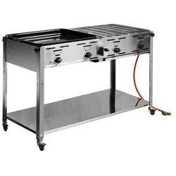 Grill gazowy grill-master quattro | 22kW | 1270x525x(H)840mm