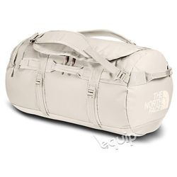 Torba podróżna The North Face Base Camp Duffel M II - vintage white/burnt coral