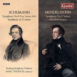 Schumann & Mendelssohn - Symphonies No 4