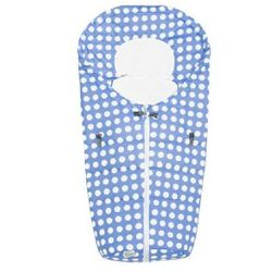 ODENWÄLDER Śpiworek do fotelika samochodowego Kropki Dots, kolor azur