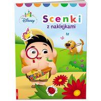Naklejki, Disney Maluch Scenki z naklejkami SN-1 - Jeśli zamówisz do 14:00, wyślemy tego samego dnia.