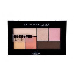 Maybelline The City Mini cienie do powiek 6 g dla kobiet 430 Downtown Sunrise