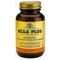 Witaminy i minerały, SOLGAR BCAA Plus Aminokwasy rozg. łańcuchy