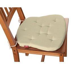Dekoria Siedzisko Filip na krzesło, kremowy, 41 × 38 × 3,5 cm, Loneta