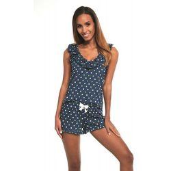 Bawełniana piżama damska Cornette 376/187 Jenny 3 granatowa