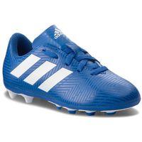 Piłka nożna, Buty adidas - Nemeziz 18.4 Fxg J DB2357 Fooblu/Ftwwht/Fooblu