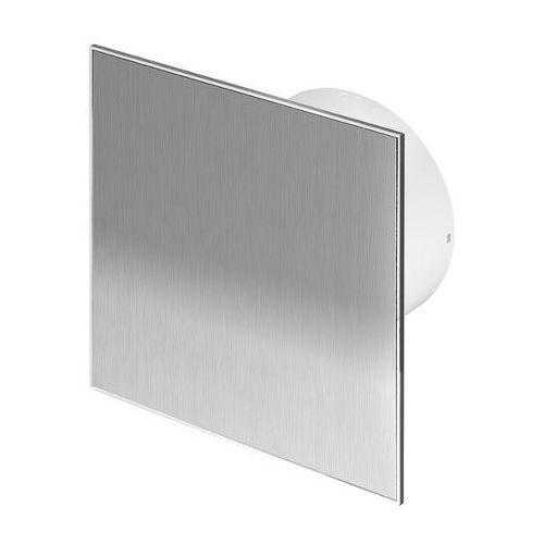 Kratki i kanały wentylacyjne, Cichy wentylator łazienkowy Silent + Wymienne Panele Czołowe Różne Funkcje: Higro,Timer Model: Standard, Średnica: 100 mm, Panel frontowy: Inox