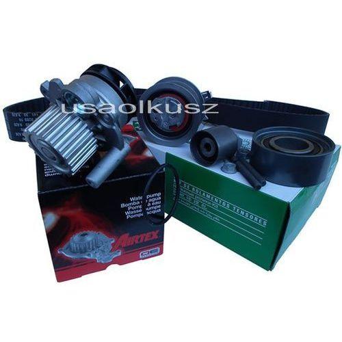Kompletne rozrządy, kpl rozrząd napinacz rolki pasek pompa wody Dodge Caliber 2,0TD