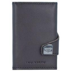 Tru Virtu Click & Slide Etui na karty bankowe Portfel RFID skórzany 6,5 cm Aluminium Core silver ZAPISZ SIĘ DO NASZEGO NEWSLETTERA, A OTRZYMASZ VOUCHER Z 15% ZNIŻKĄ
