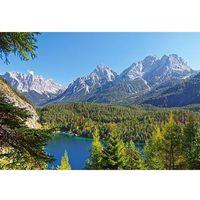Puzzle, CASTOR 3000 EL. Jezioro w Alpach, Austri