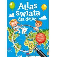 Książki dla dzieci, Atlas świata dla dzieci (opr. twarda)
