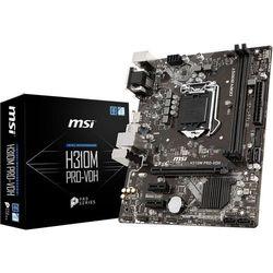 Płyta główna MSI H310M PRO-VD ( LGA 1151; 2x DDR4 DIMM; Mini ATX; Nie )
