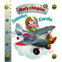 Książki dla dzieci, Samolot Karola Mały chłopiec