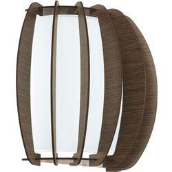Kinkiet Eglo Stellato 3 95594 lampa ścienna 1x60W E27 nikiel mat / brąz