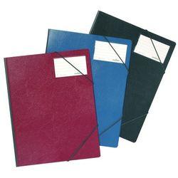 Folder na dokumenty z gumkami narożnymi 1-150 kartek PCV czerwony 232003