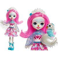 Lalki dla dzieci, ENCHANTIMALS Lalka Saffi Swan + zwierzaczek Poise - 7