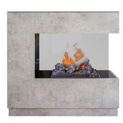 """Zestaw kominek + obudowa Zen 3D Beton -dodatkowy """"efekt dymu"""" najniższa cena w Polsce + dodatkowy rabat + gratis"""
