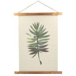 Dekoria Dekoracja ścienna Leaf II, 45,5 × 2 × 58,5 cm