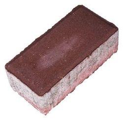 Kostka brukowa Polbruk Prostokąt 6 cm czerwona