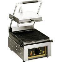 Grille gastronomiczne, Kontakt grill pojedynczy 330x385x220 mm | ROLLER GRILL, 777213