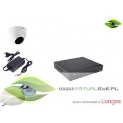 Zestaw do monitoringu AHD 1080P Longse XVRA2004D15