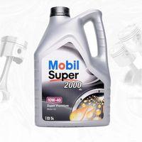 Oleje silnikowe, MOBIL SUPER 2000 X1 10W40 SL/CF, A3/B3, VW 501.01/505.00, MB229.1 – 5L