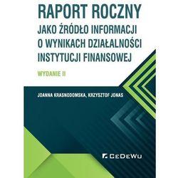Raport roczny jako źródło informacji... w.2 (opr. miękka)