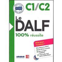 Książki do nauki języka, DALF 100% reussite C1/C2 książka + płyta MP3 (opr. miękka)