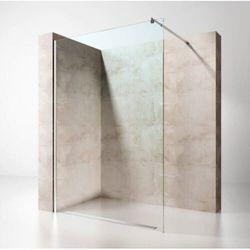 Wolnostojąca Ścianka Prysznicowa Walk-In TRANSPARENTNA 8mm lub 10mm