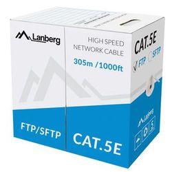 LANBERG Kabel FTP Kat.5E CCA 305m drut