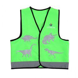 Kamizelka odblaskowa LittleLife Dinozaur - mała - Dinozaur