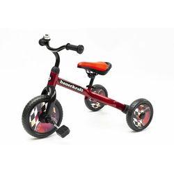 Rower biegowy, rowerek trójkołowy dla dziecka, 2 w 1, niebieski darmowa dostawa