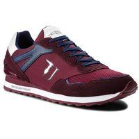 Męskie obuwie sportowe, Sneakersy TRUSSARDI JEANS - 77A00109 R681