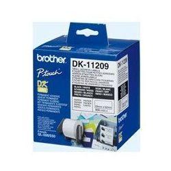 Oryginał Etykieta Brother do QL-500/550/560/650/1050/1060N   29 x 62 mm   DK-11209