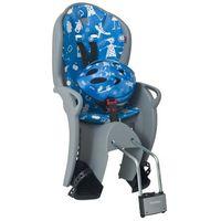 Foteliki rowerowe, Fotelik rowerowy niebieski HAMAX Kiss + kask