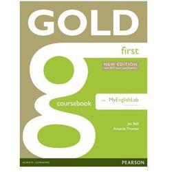 Gold First. Podręcznik + MyEnglishLab (opr. miękka)