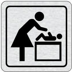 Tabliczka na drzwi -Miejsce do przewinięcia dziecka