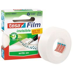 Taśma klejąca Tesa Film Invisible 19mmx33m mleczna 57312