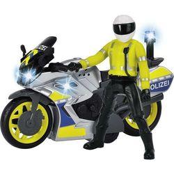 Dickie Pojazd SOS Motocykl policyjny 17 cm