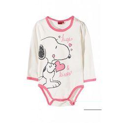 Body niemowlęce 100%bawełna Snoopy5T35A2 Oferta ważna tylko do 2019-12-08