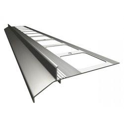 K30 Profil aluminiowy balkonowy 2.0m szary RAL 7037 - listwa balkonowa okapnikowa szara