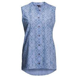 Koszulka damska SONORA MAORI SLEEVELESS shirt blue all over - XS