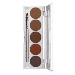 Kryolan Eyebrow Powder Palette, paletka 5 cieni do brwi, 10g