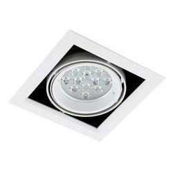 Spot LAMPA sufitowa VERNELLE TG0004-1 Italux metalowa OPRAWA LED 12W kwadratowy PLAFON biały