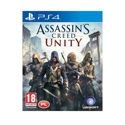 Gry na PlayStation 4, Assassins Creed Unity Gra PlayStation 4 UBISOFT